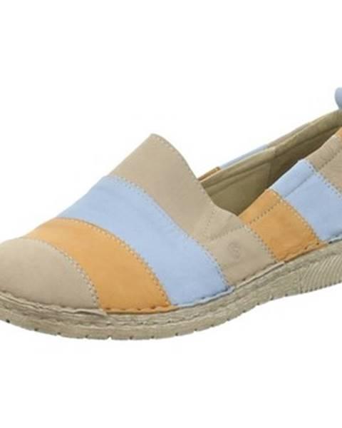 Viacfarebné topánky Josef Seibel