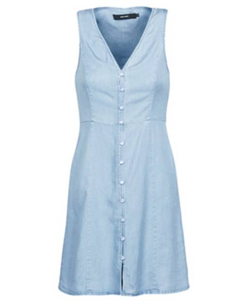 Modré minišaty Vero Moda