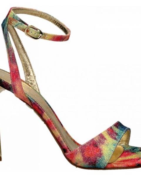 Viacfarebné sandále Ororo
