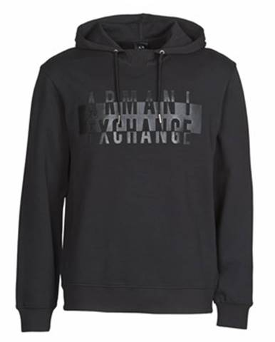 Čierna mikina Armani Exchange