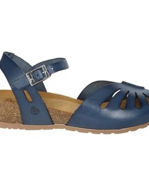 Modré sandále Yokono