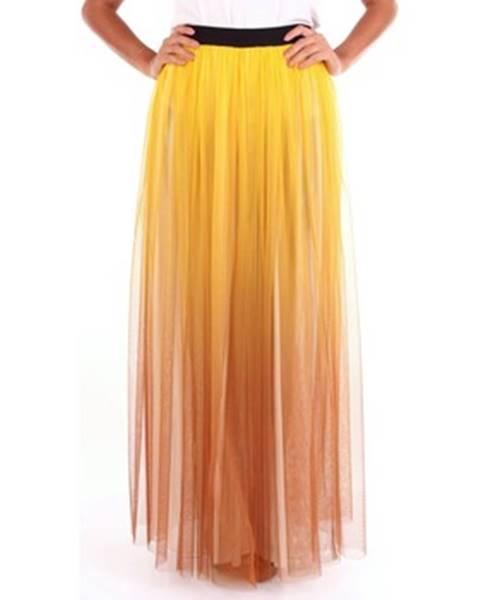 Žltá sukňa Se-Ta