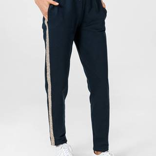 Tepláky Trussardi Pants Fleece Pure Cotton Modrá