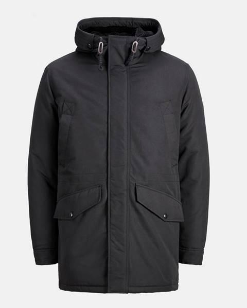 Čierna zimná bunda Jack & Jones