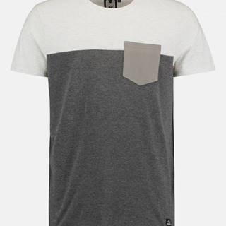 Tmavošedé pánske tričko Haily´s Kyle