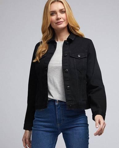 Čierna bunda Dorothy Perkins