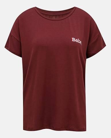 Vínové tričko Noisy May