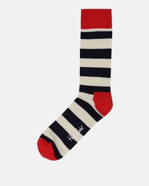 Biela spodná bielizeň Happy Socks