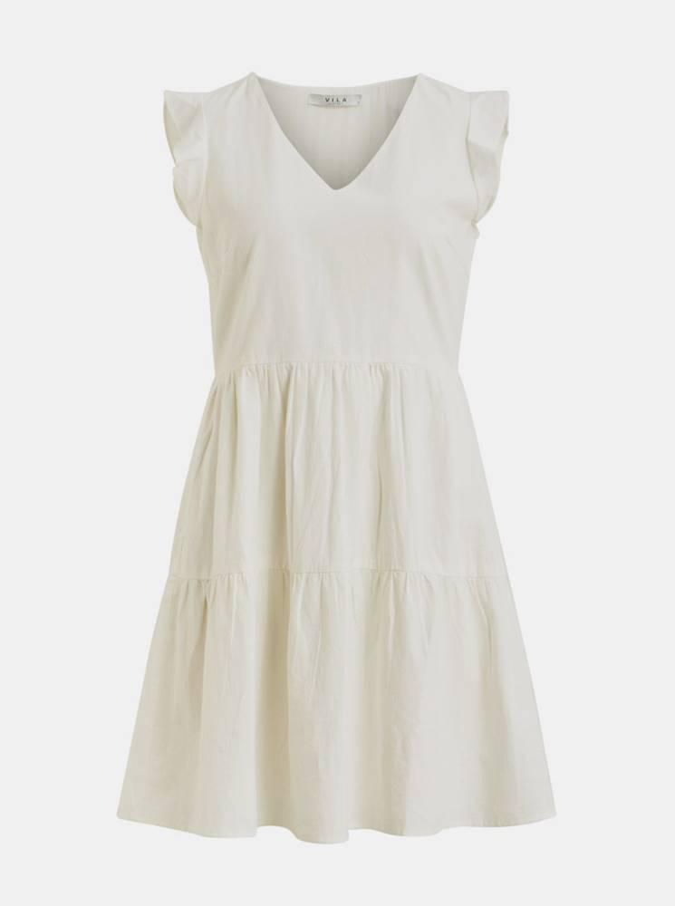 Vila Biele šaty VILA