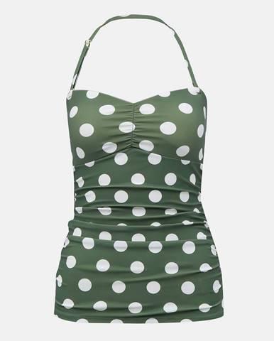 Zelené plavky Dorothy Perkins