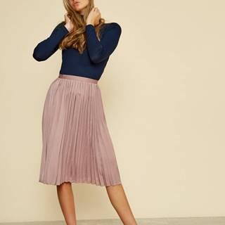 Svetlofialová plisovaná sukňa ZOOT Petra