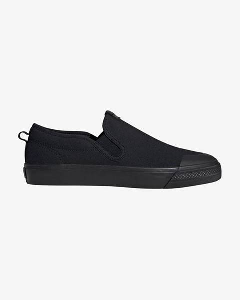 Čierne espadrilky adidas Originals