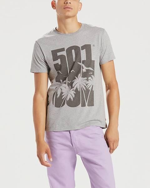 Sivé tričko levi's®