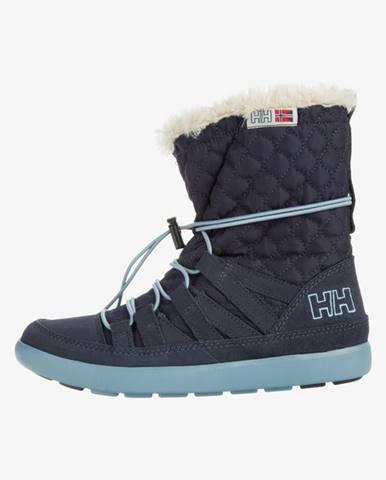 Modré zimná obuv Helly Hansen