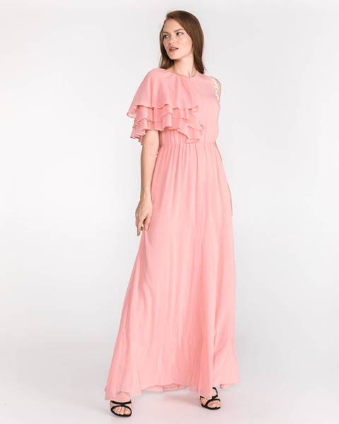 Béžová sukňa Pinko