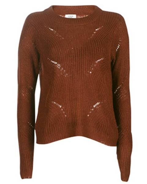 Hnedý sveter JDY
