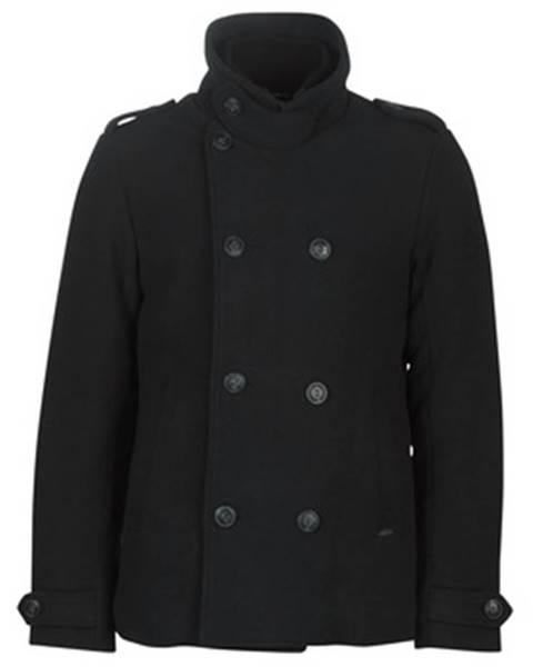 Čierny kabát Petrol Industries