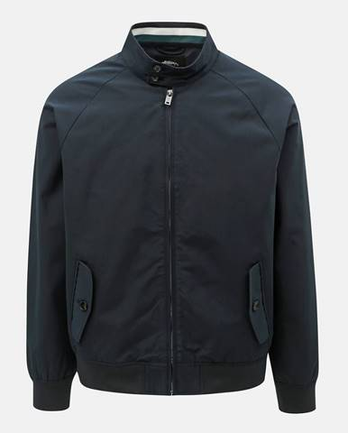 Tmavomodrá bunda Burton Menswear London