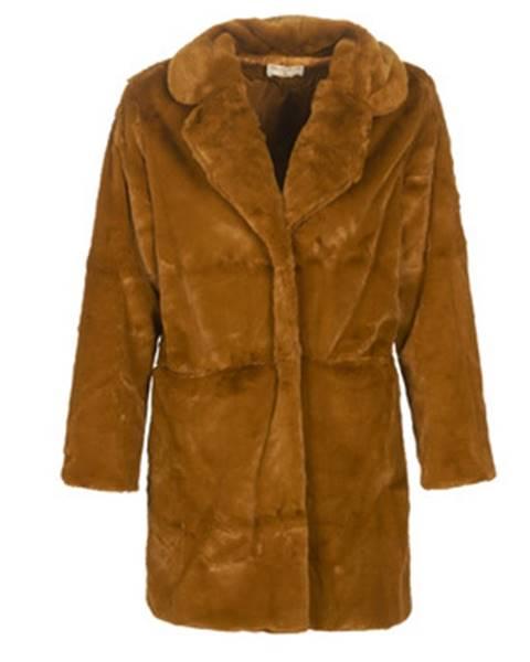 Hnedý kabát Moony Mood