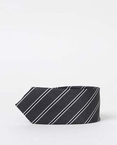 Tmavosivá kravata Selected Homme