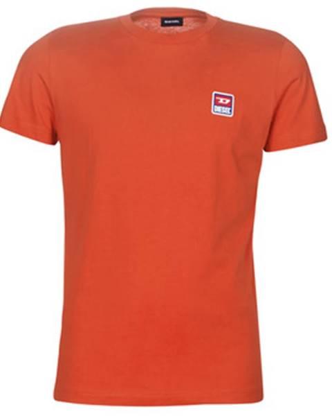 Červené tričko Diesel