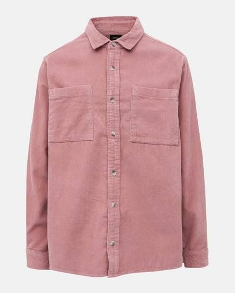Ružová košeľa Burton Menswear London