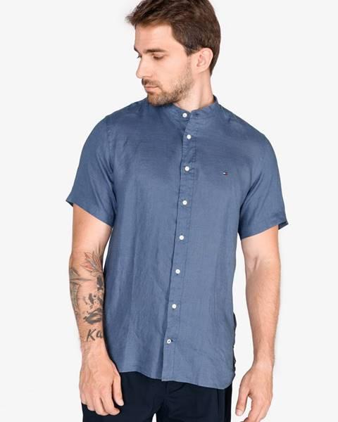 Modrá košeľa Tommy Hilfiger