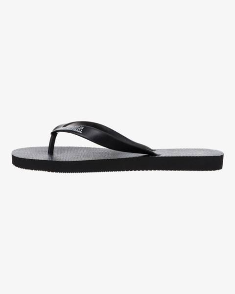 Čierne sandále Franklin & Marshall