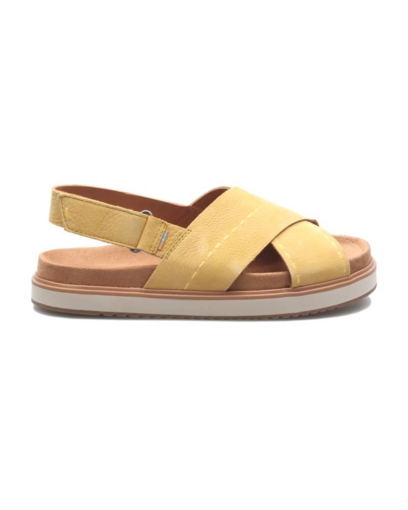 TOMS TOMS Sandále Žltá