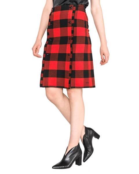 Červená sukňa Scotch & Soda