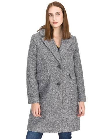Sivý kabát Vero Moda