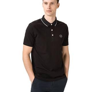 Armani Exchange Polo tričko Čierna