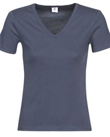 Modré tričko Petit Bateau