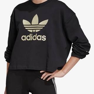 Mikina adidas Originals Lg Crew Čierna