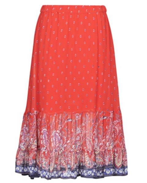 Červená sukňa Cream