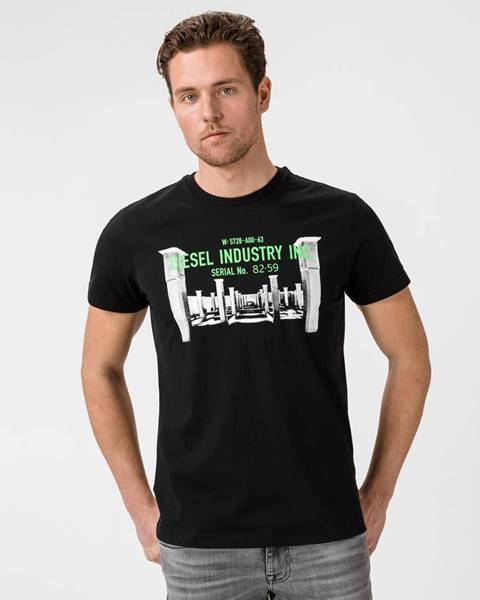 Čierne tričko Diesel