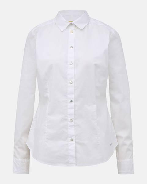 Biela košeľa zoot baseline