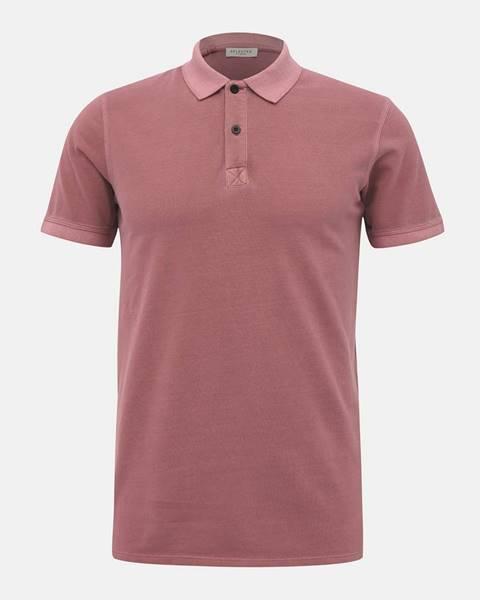 Ružová košeľa Selected Homme