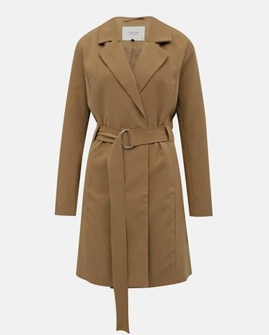 Svetlohnedý kabát Jacqueline de Yong