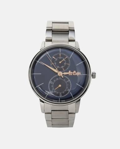 Strieborné hodinky Lee Cooper