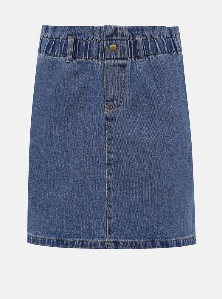 Noisy May Modrá rifľová sukňa Noisy May Judo
