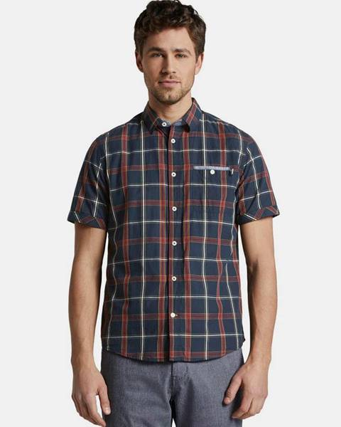 Tmavomodrá košeľa Tom Tailor