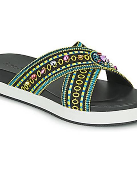 Čierne sandále Desigual