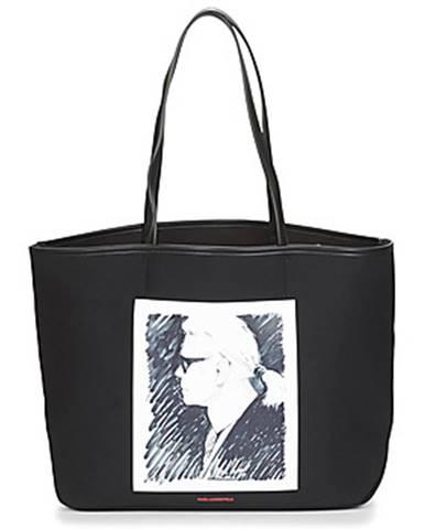 Čierna kabelka Karl Lagerfeld