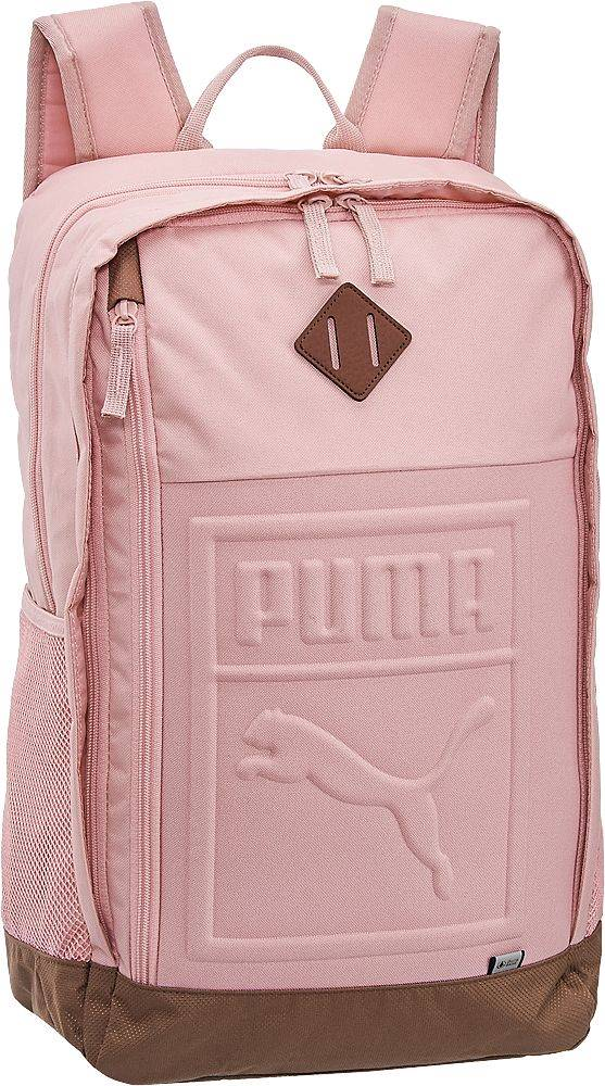 Puma Puma - Ružový batoh Puma S Backpack