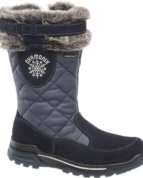 Tmavomodré zimná obuv Landrover