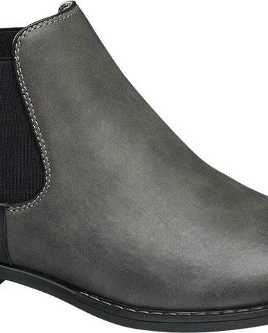 Sivé členková obuv Graceland