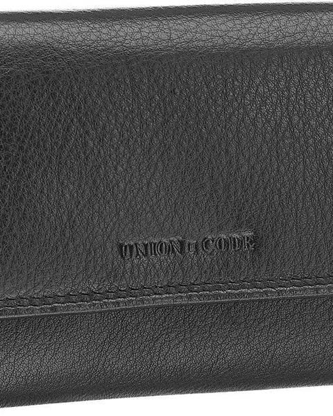 Čierna peňaženka Union Code