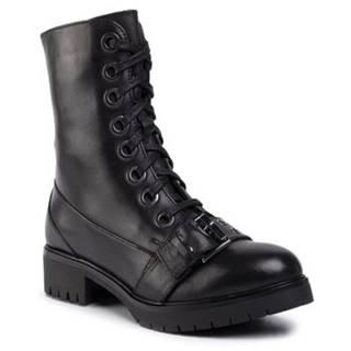 Šnurovacia obuv Gino Rossi RST-DTI725 koža(useň) lícová