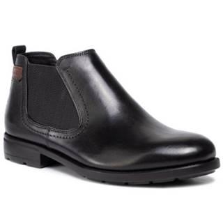 Členkové topánky Lasocki for men MI08-C593-584-02 koža(useň) lícová